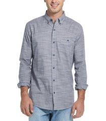men's solid long sleeve shirt