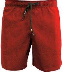 shorts alkary elástico vermelha