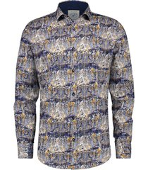 a fish named fred 21.01.003 overhemd shirt canal houses blue -