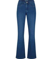 jeans elasticizzati ultra morbidi bootcut (blu) - john baner jeanswear