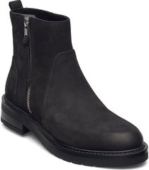 heidi eco shoes boots ankle boots ankle boot - flat svart pavement
