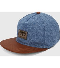 gorra azul-miel colore
