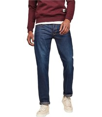 g-star 51002 4639 - 3301 straight jeans men denim dark blue
