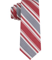 tommy hilfiger men's beach day slim stripe tie