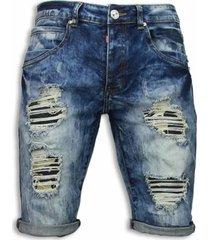 korte broek justing korte broeken - slim fit vintage look shorts -