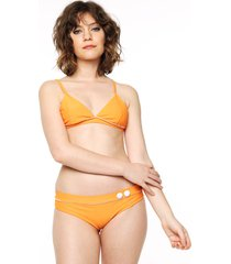 bikini triangulo fijo berenson naranja calypsonia