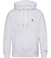 ck essential regular hoodie hoodie trui wit calvin klein jeans