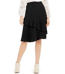 alfani petite tiered ruffled skirt, created for macy's