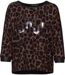 shirt long 3/4 sleeve t-shirts & tops long-sleeved zwart betty barclay