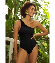 hunza g nancy swimsuit black