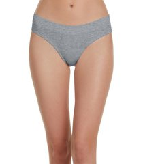 women's honeydew intimates bailey hipster panties, size large - grey