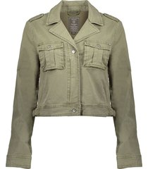 jacket short with pockets