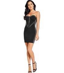 vestido lucia dress negro guess