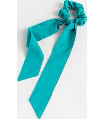 wendy long thin pony scarf - teal