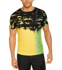 guess men's tie-dye t-shirt