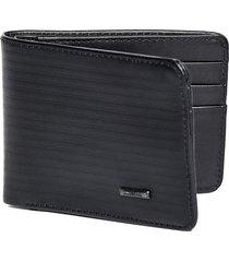 billetera cuero negra
