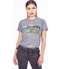 capri sesame street - l heather grey
