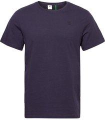 base-s r t ss t-shirts short-sleeved blauw g-star raw