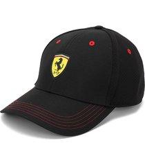 gorra negro-rojo-amarillo puma scuderia ferrari