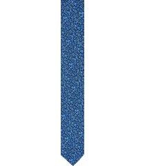 krawat platinum niebieski classic 211