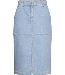 sophia knälång kjol blå baum und pferdgarten