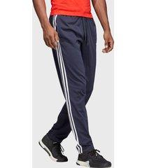 pantalón adidas performance e 3s t pnt sj azul - calce regular