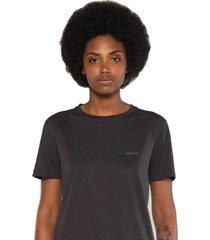 camiseta albedrío regular logo gris