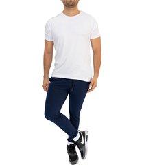 sudadera jogging azuloscuro/blanco manpotsherd ref: ft