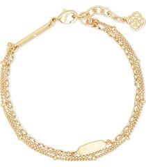 women's kendra scott fern multi-strand bracelet