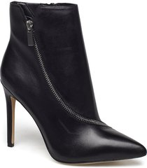 asteilia shoes boots ankle boots ankle boots with heel svart aldo