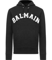 balmain paris college sweatshirt
