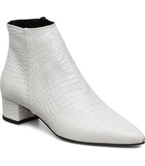 alba shoes boots ankle boots ankle boot - heel vit jennie-ellen