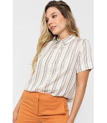 camisa multicolor lurex wupper