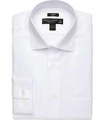 pronto uomo white queen's oxford slim fit dress shirt