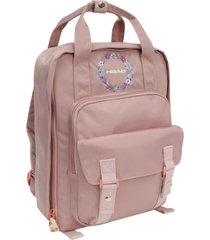 mochila mujer alpha 20 bordado rosado head