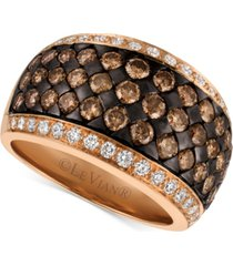 le vian chocolatier diamond band (2-3/8 ct. t.w.) in 14k rose gold