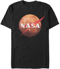nasa men's mars profile swoosh short t-shirt