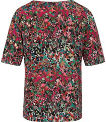 shirt ronde hals van peter hahn multicolour