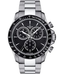 tissot v8 chronograph bracelet watch, 42.5mm