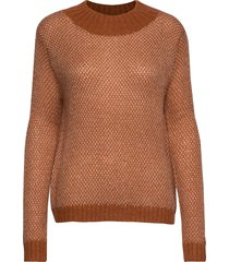knit w. mixed pattern gebreide trui bruin coster copenhagen