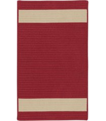 colonial mills aurora red sand 2' x 4' accent rug bedding