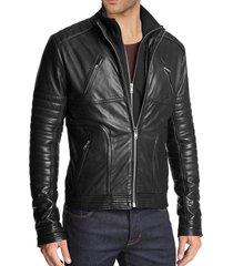 handmade mens fashion biker leather jacket, men hollywood style leather jacket
