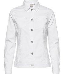 jacket jeansjacka denimjacka vit brandtex