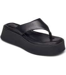 courtney shoes summer shoes flat sandals svart vagabond