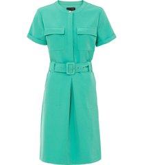 abito con cintura (verde) - bodyflirt