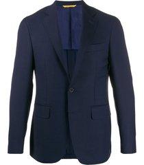canali formal blazer - blue