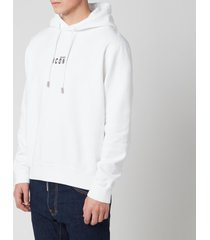 dsquared2 men's cool fit icon hoodie - white - xxl