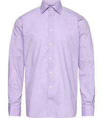 contemporary fit purple poplin shirt skjorta business lila eton