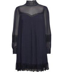 brose korte jurk blauw ted baker