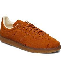 gazelle låga sneakers brun adidas originals